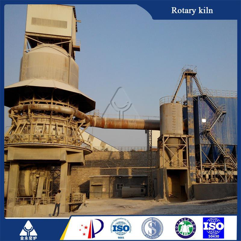 High Efficiency Rotary Kiln Lime Processing Machinery