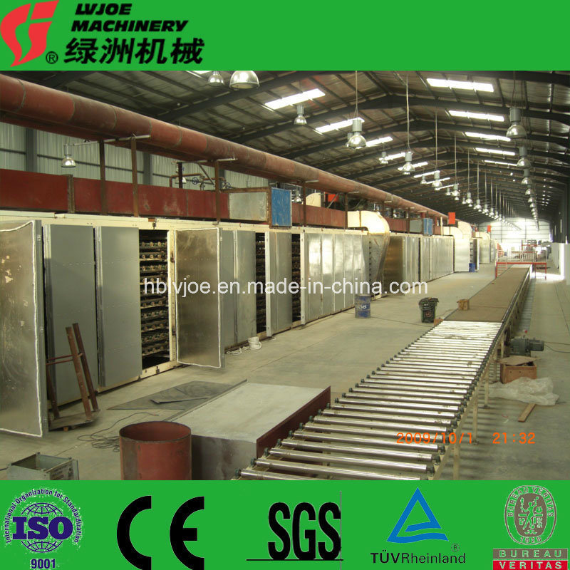 High-Efficient Gypsum Plaster Board Making Machine