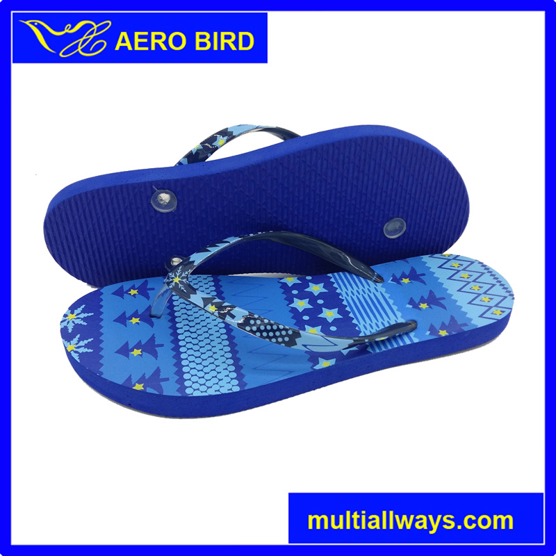 Wholesale PE Fashion Flip Flop Slipper for Girl (15H006)