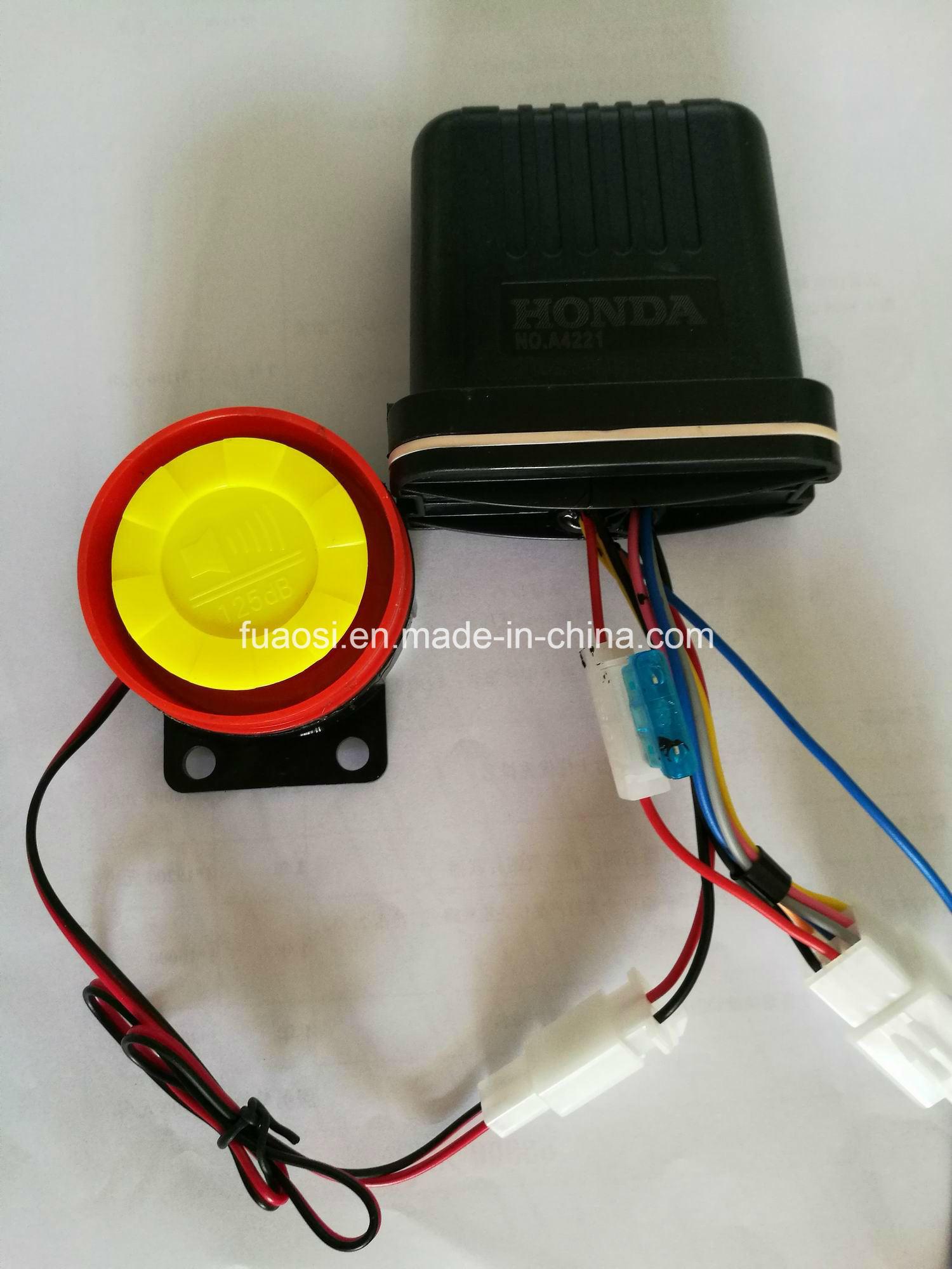 2 Way Motorcycle Alarm System