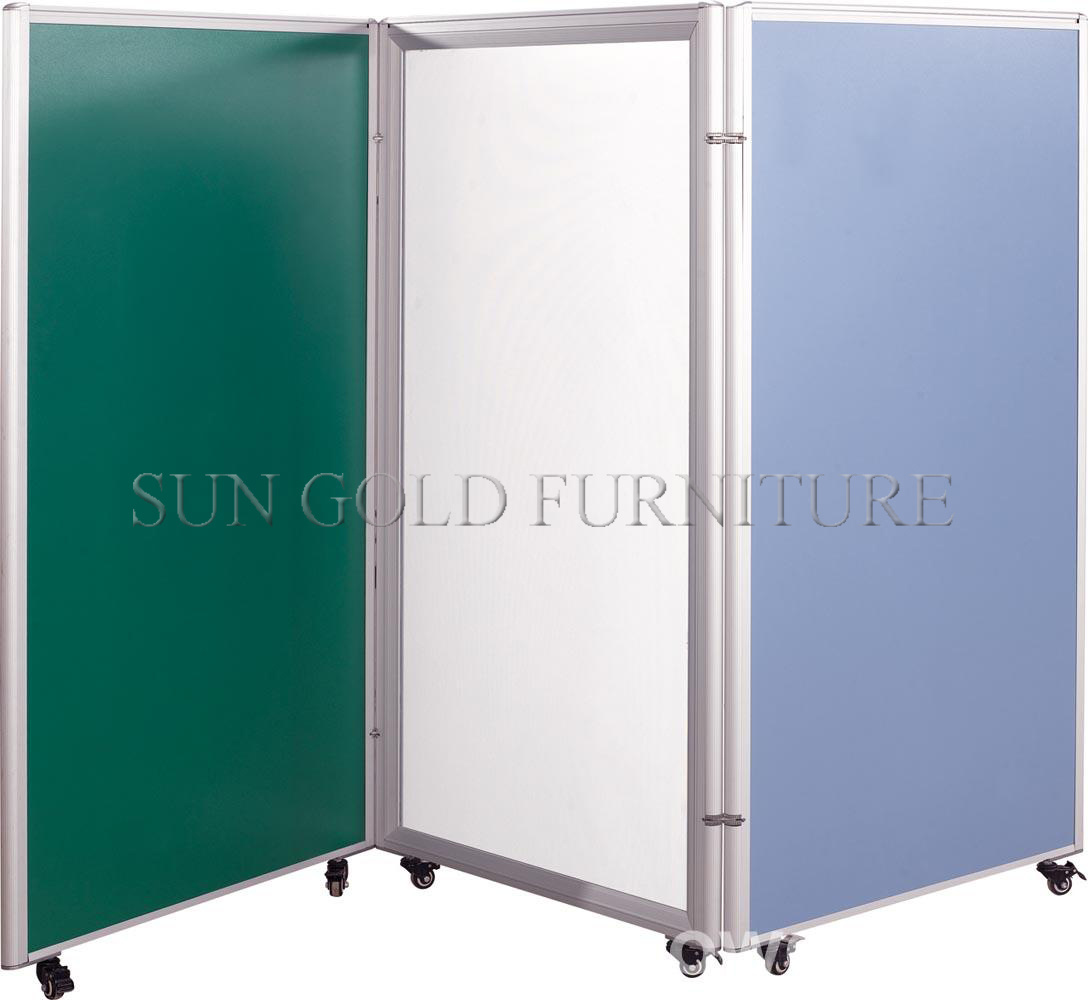Hotsale Movable Divided Wall Melamine Sliding Folding Partition (SZ-WS583)