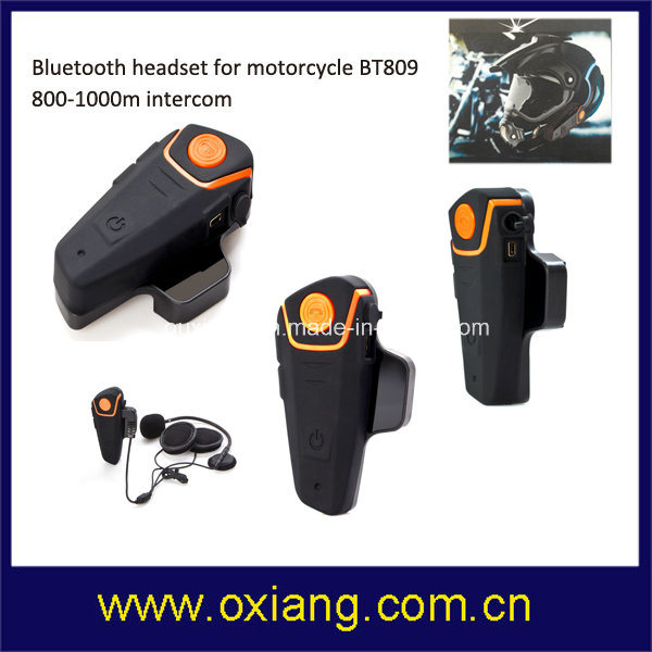 1000m Wireless Stereo Intercom Motorcycle Helmet Bluetooth Headset