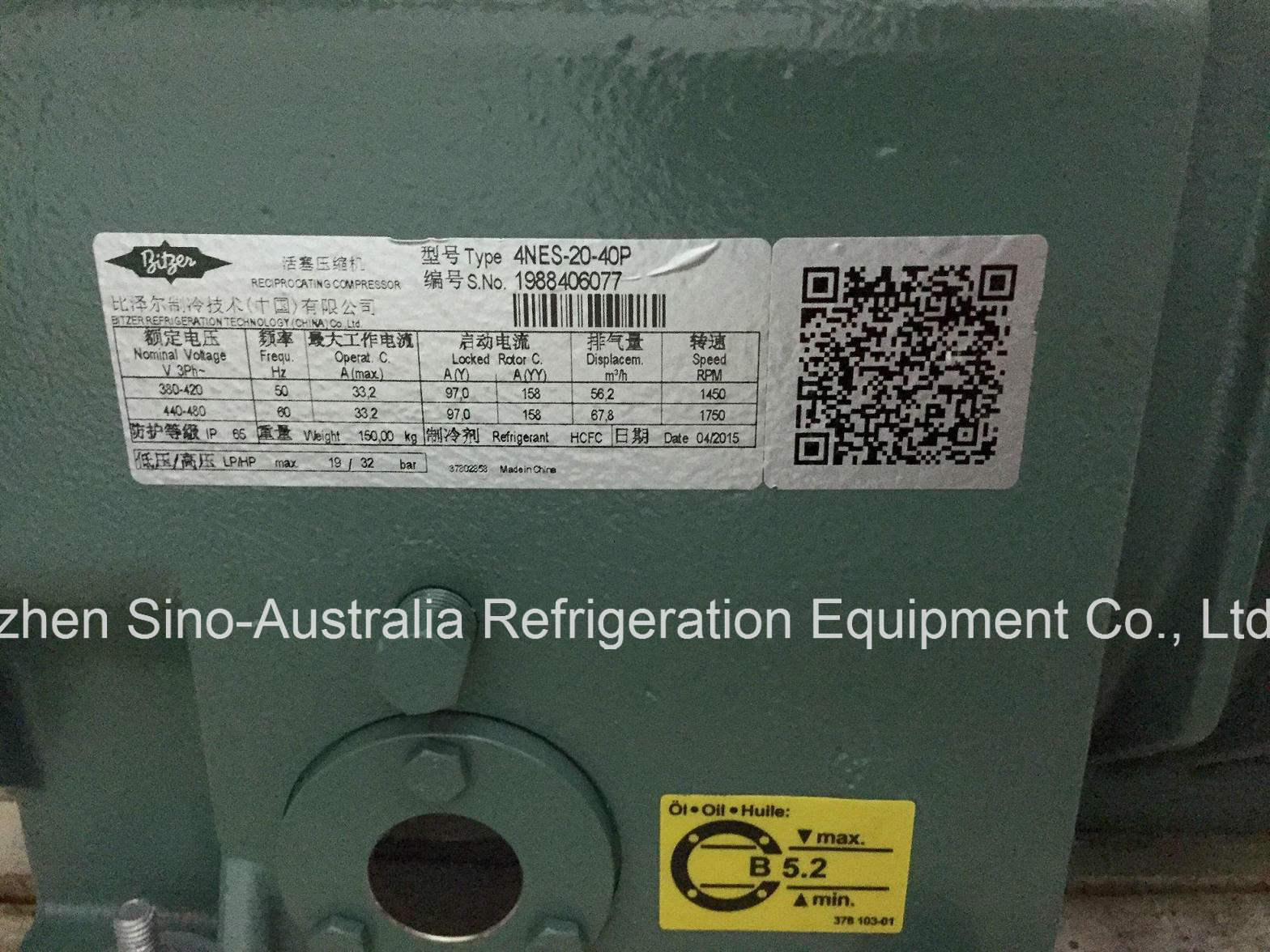 Germany Bitzer Brand Semi-Hermetic Compressors R22 Refrigerant Octagon Series