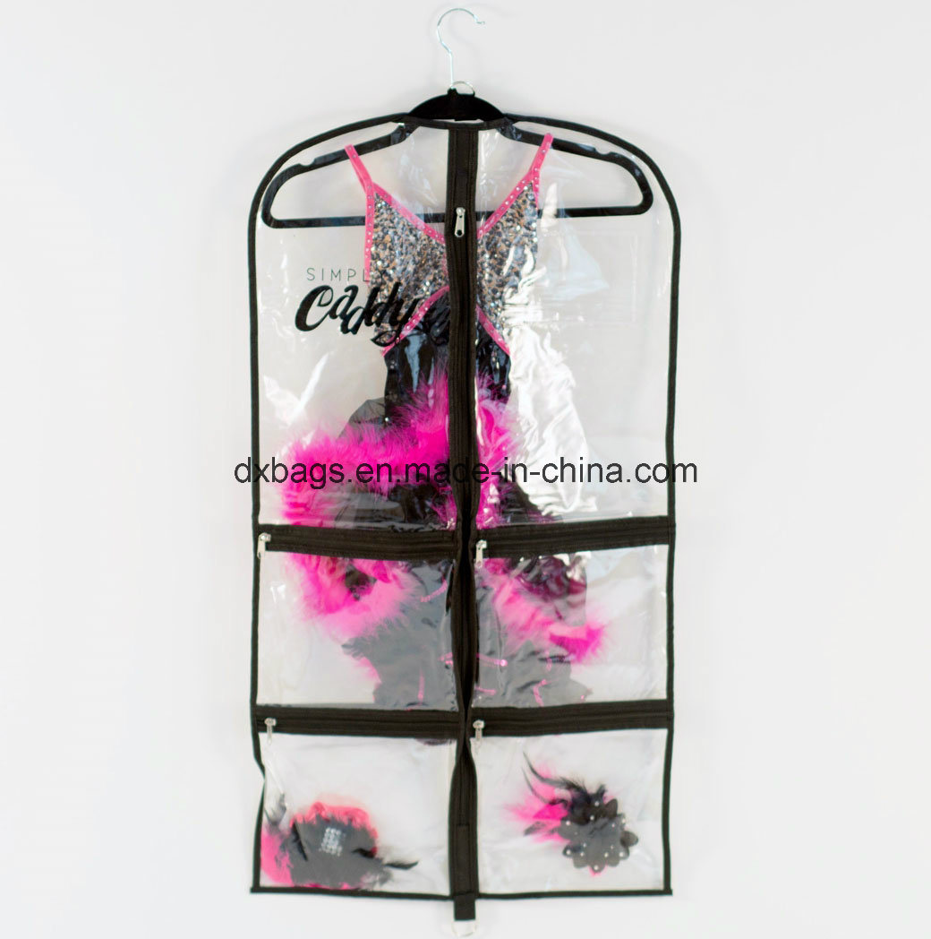 Personalized Girls Dance Garment Bags with Pockets, Garment Bag