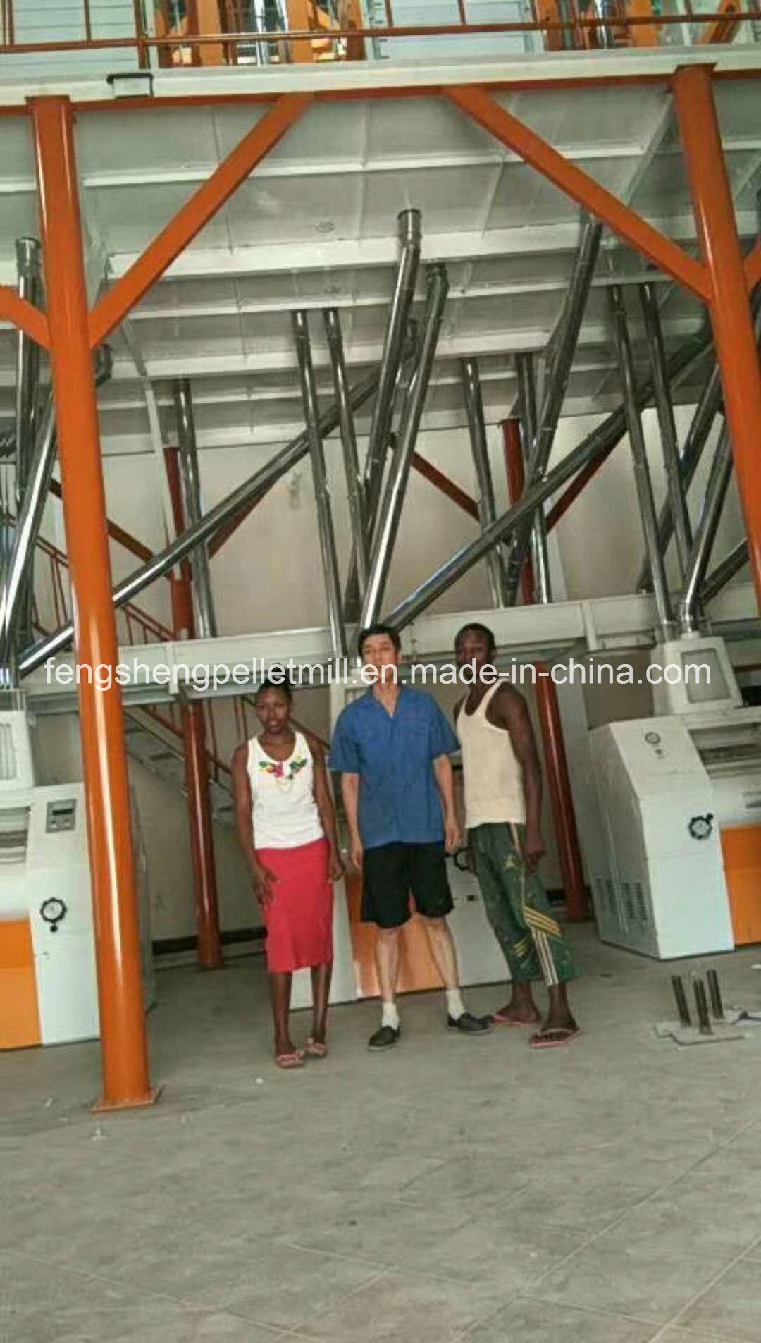 Africa Market Wheat Corn Maize Flour Mill Complete Line Flour Milling Machine