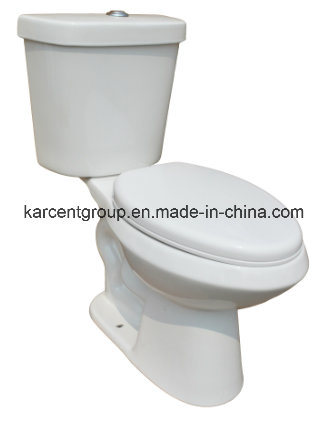 Two Piece Ceramic Sophinic Toilet with Cupc Certification 00371