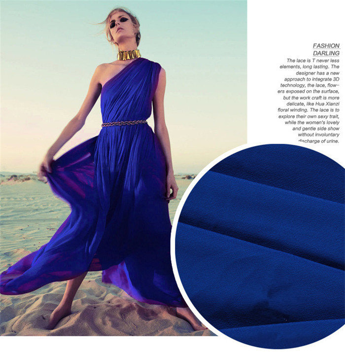 Imitation Silk, Textile and Polyester Fabric for Ladies′ Skirts