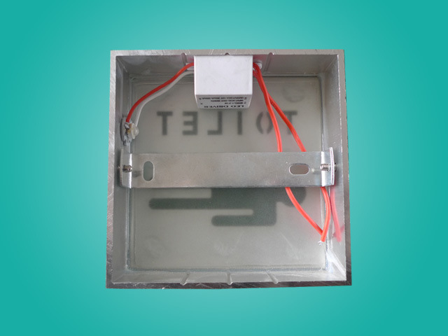 Convention LED 2W Toilet Sign Aluminum Box Lamp with 2 Years Warranty