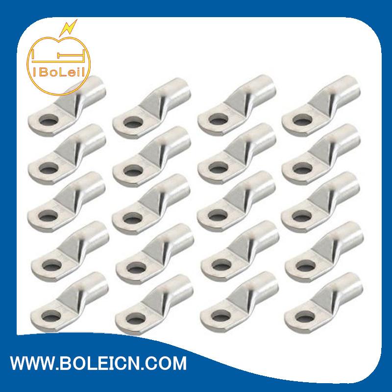 Electro Tin Plated Copper Non-Insulated Copper Lugs
