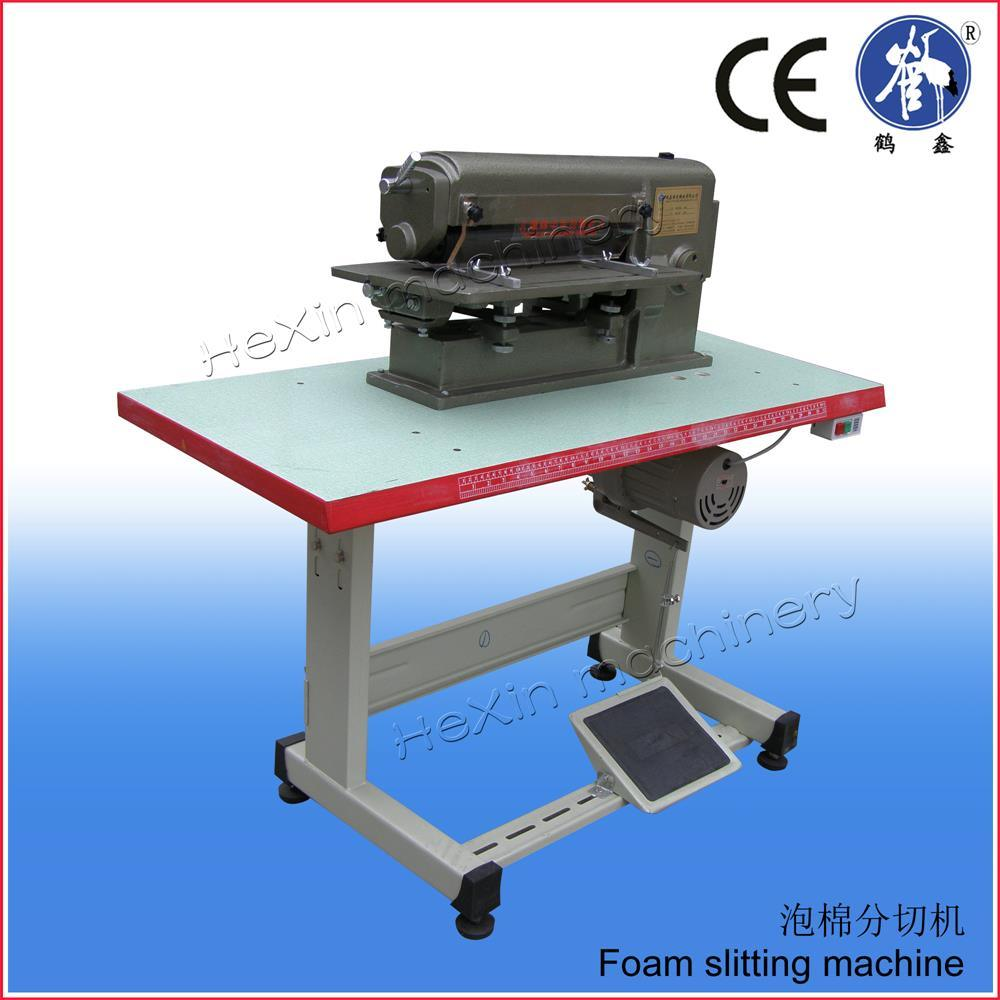 Leather Foam Sheet Strip Slitting Cutting Machine