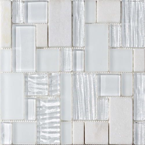 Marble Stone Mosaic for Wall / Water Madellion Floor Decoration