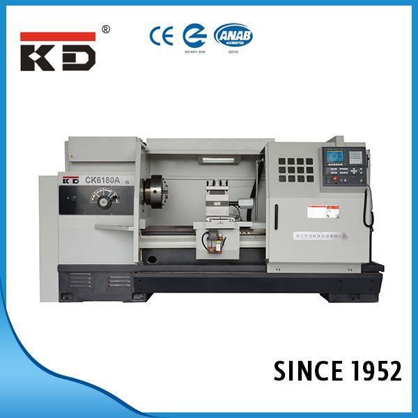 High Precision Flat Bed CNC Lathe Ck6180A/1500