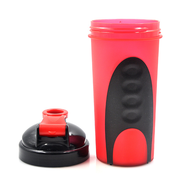 600ml Xyt Private Mold Plastic Protein Shaker Bottle with Stainless Steel Ball