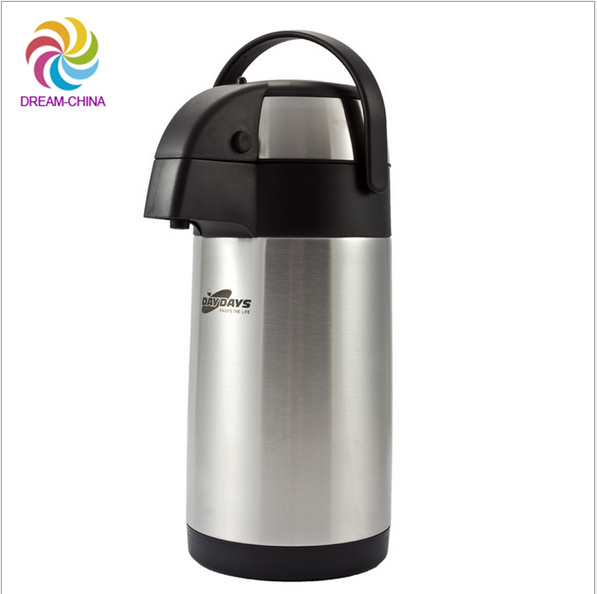 4L Pyrex Double Stainless Steel Vacuum Flask with Pumping System