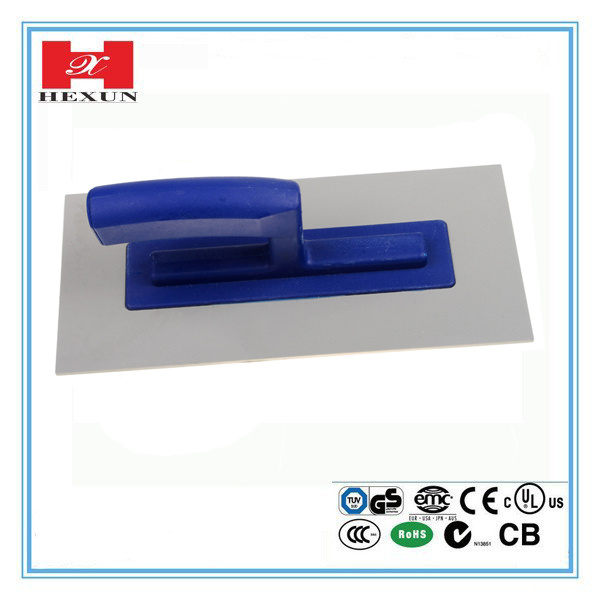 High Quality Construction Tools Plaster Stainless Steel Cement Trowel