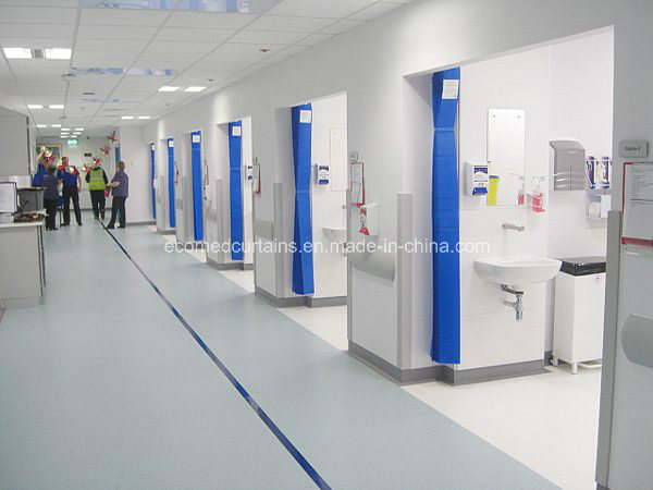 Medical Blue Disposable Curtains for Hospital