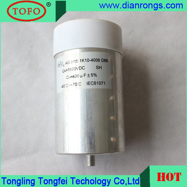 High Quality Metalized Film Filter Industrial Capacitor