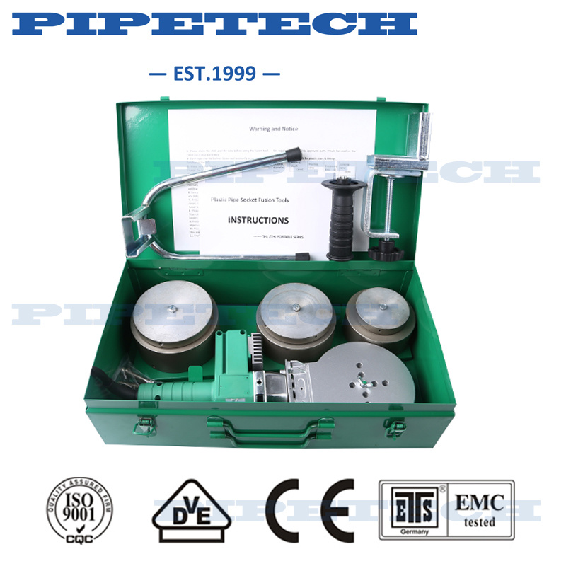 Most Professional PPR Plastic Pipe Fusion Machine 110mm