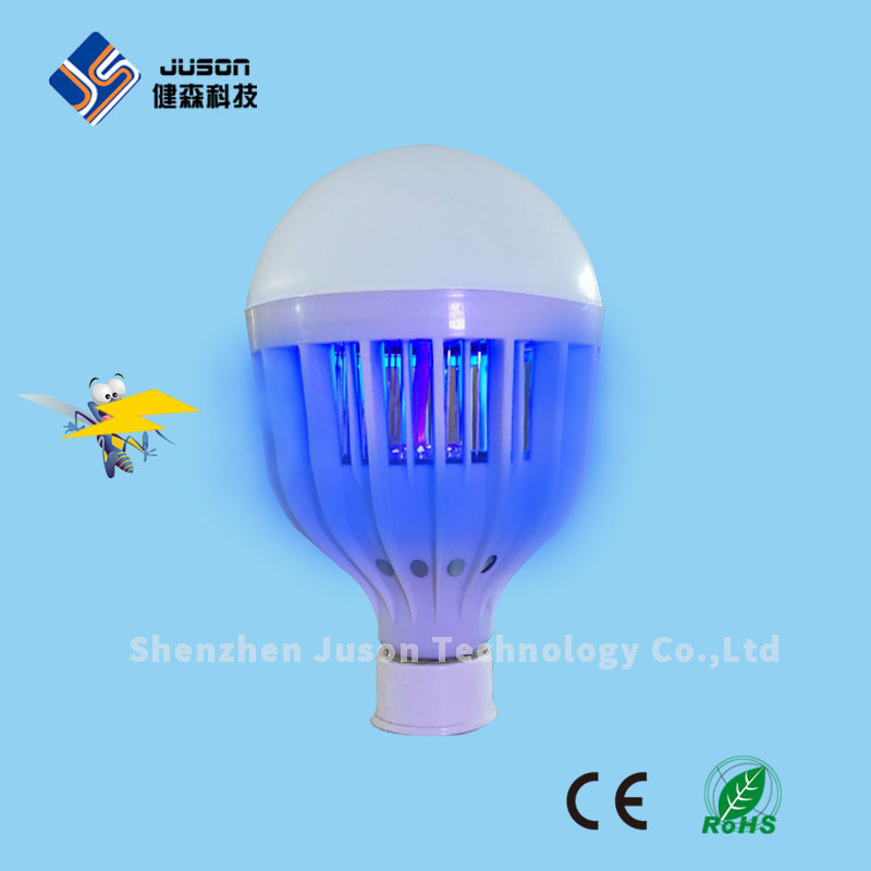 Bug Zapper Chemical Free UV Light LED Mosquito Killer Bulb