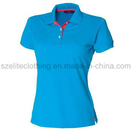Wholesale Cheap Fashion Women Polo Tshirt (ELTWPJ-501)