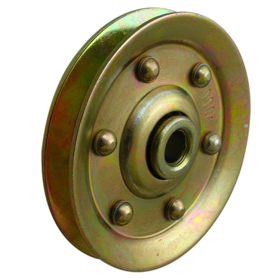3 Extra Heavy Gold Sheave / Metal Stamping Part/Door Pulley