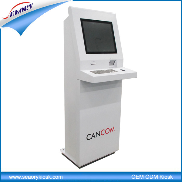 2016 Best Selling Self Service Card Vending Touch Screen Kiosk