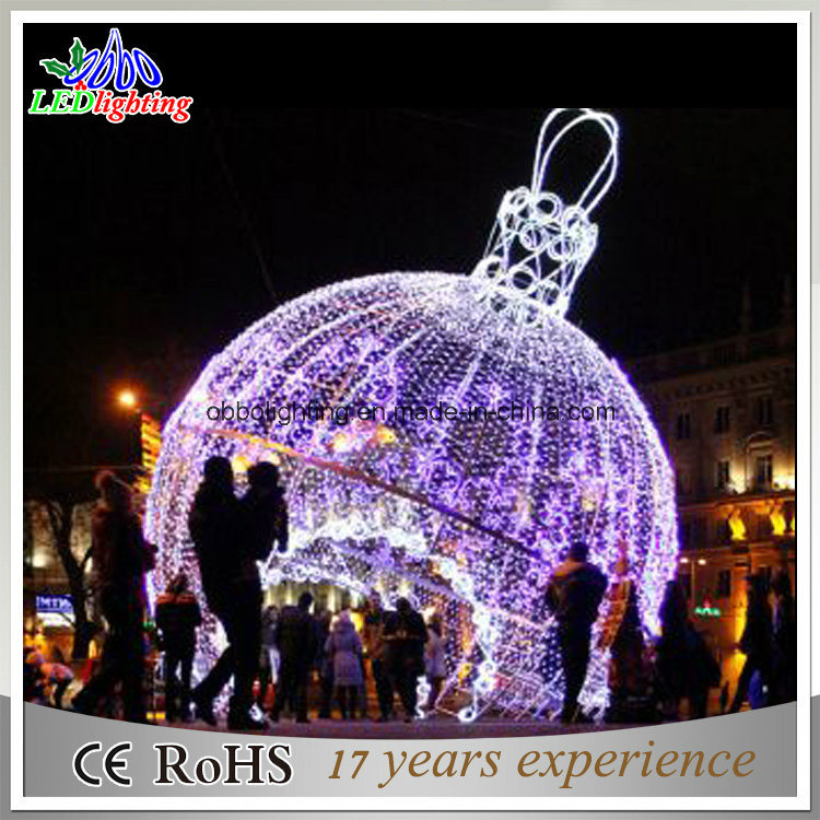 Big LED Outdoor Christmas Ball Lights Holiday Light Garden Decoration Light