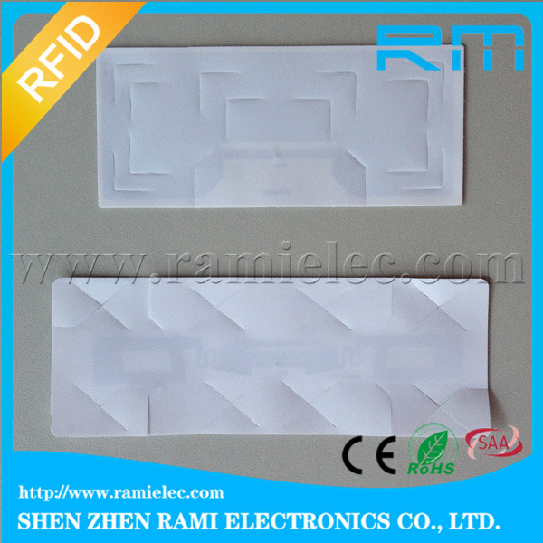 UHF RFID Label RFID Sticker for Windshield /etc Tag for Vehicle Management