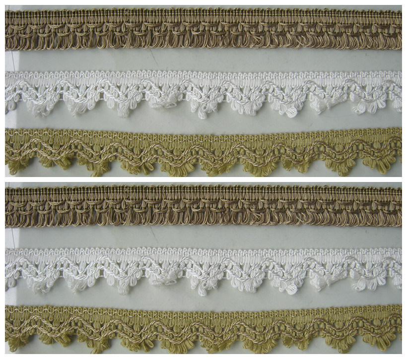 High Quality Fashion Crochet Laces for Cushion Trimming Home Decoration