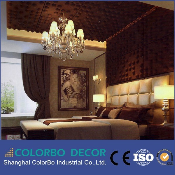 Soundproof Polyester Fiber Panels 3D