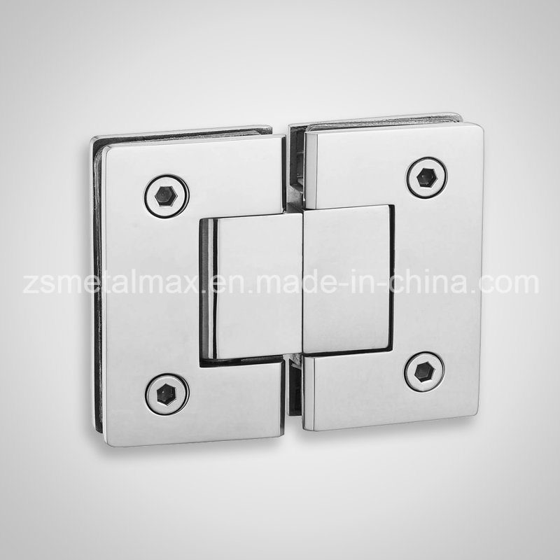 Stainless Steel Brass 180 Degree Glass Clamp Shower Door Hinge (YH211)