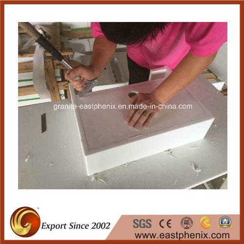Polishing White/Black/Grey/Beige Granite/Marble/Onyx/Quartz/Crystallized Stone Wash Sink for Bathroom/Kitchen/Hotel