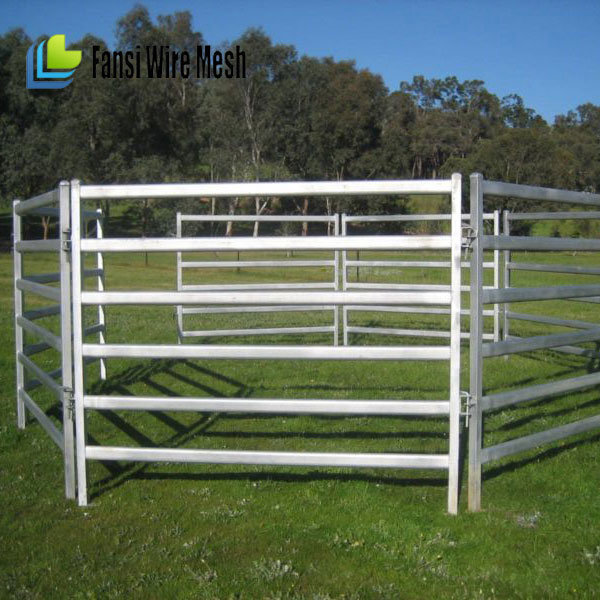 Galvanized Cattle Yard for Australia Marking