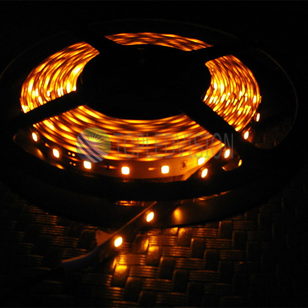 Amber SMD2835 LED Strip Light 60LEDs/M with High Lumen (22-28lm/LED)