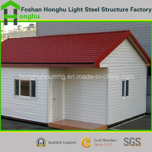 Prefabricated House Single Storey Prefab Home Steel House Villa