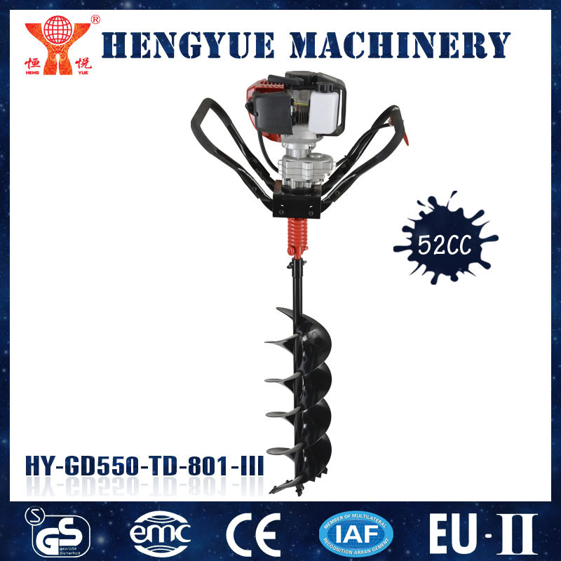 Gasoline Earth Drill for Tree Planting with CE and GS Approved
