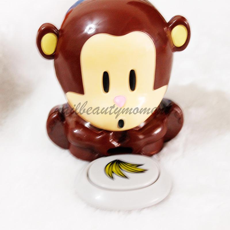 Monkey Nail Dryer Cute Nail Art Dryer Nail Polish Dryer (M06)