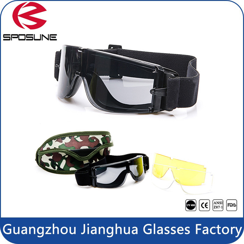 Top Selling Military Type Tactical Painball Goggles Multipurpose Military Eyeglasses