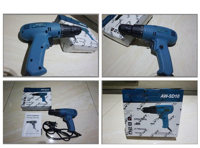 Powertec 220V 280W 10mm Electric Screwdriver (PT82002)