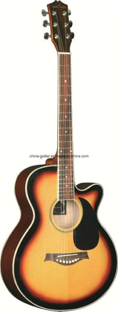 40′′ Hot Sale Sapele Cutaway Acoustic Guitar