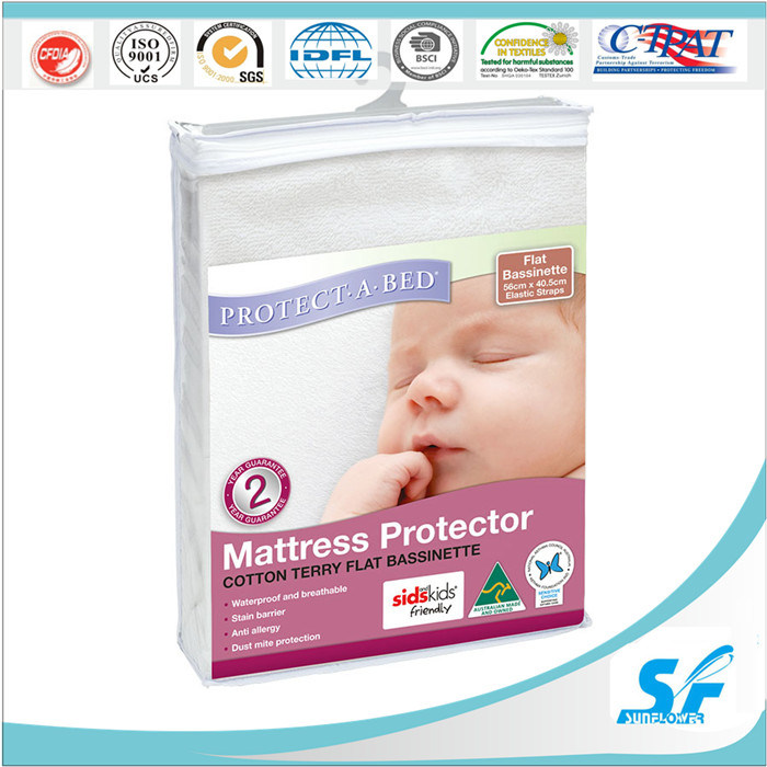 Bamboo Terry Cloth Mattress Protector Crib Waterproof Protector