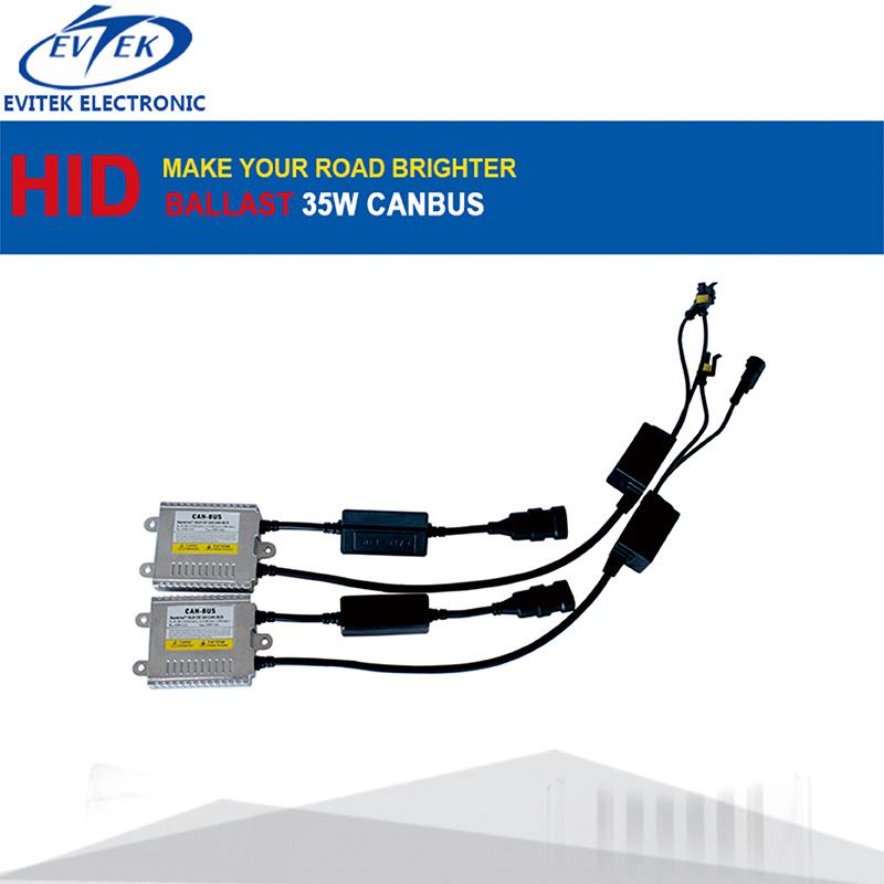 Evitek Powerful Canbus Kit Error Zero HID Xenon Canbus Headlight 35W AC HID Conversion Kit