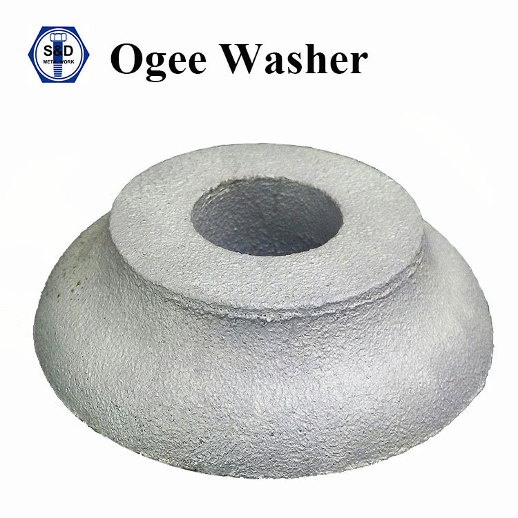 ASTM A48 Gray Iron Ogee Washer H. D. G.