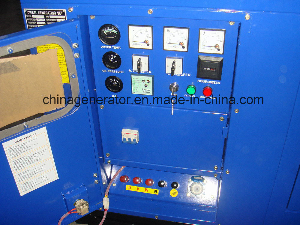 20kw-120kw Standby UK Power Generator for Industrial Use