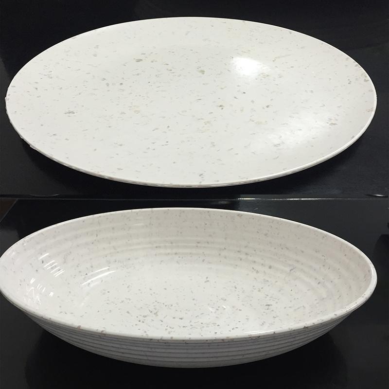 Melamine Tableware Powder Formaldehyde Resin Texture Material Powder
