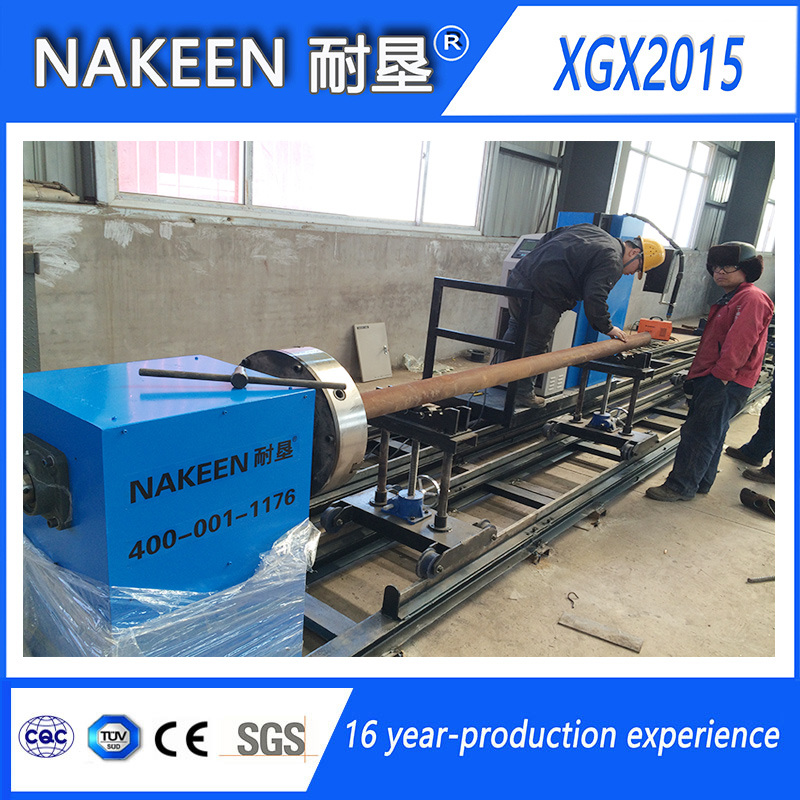 Three Axis CNC Intersection Line Pipe Cutting Machine