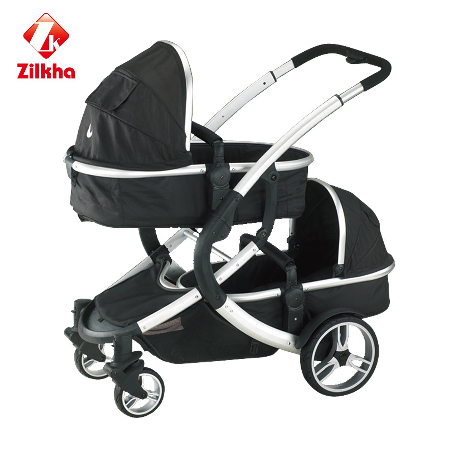 High Fashion Two-Seater Stroller