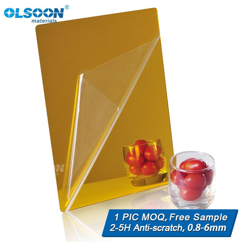 Olsoon Customized Home Wall Mirror Acrylic Decorative Mirror