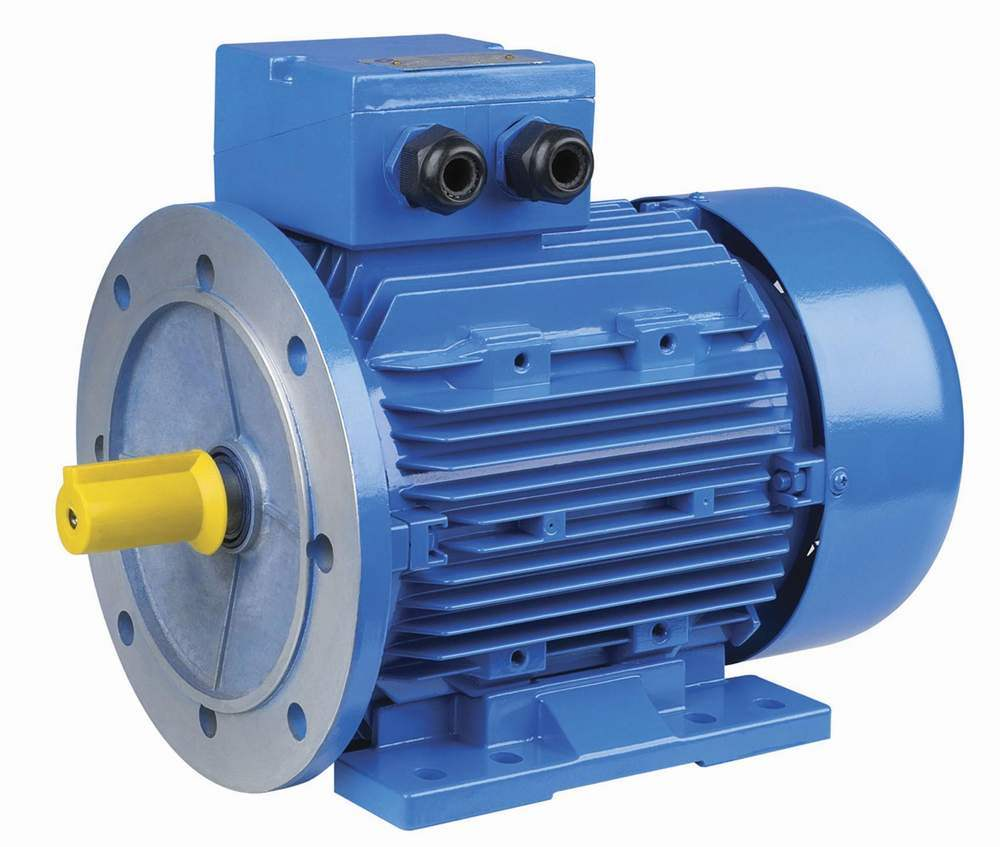 China ms three phase aluminum housing electrical motor for Two phase electric motor