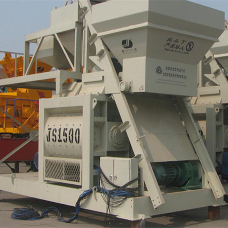 Force Concrete Mixer, Concrete Mixing Plant, Ready-Mix Machine (JS1500)